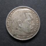 Germania - 5 Reichsmark 1935 A Hindenburg - Argint, Europa