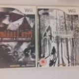 LOT 2  jocuri - Resident Evil 4 + Umbrella   - Nintendo Wii [Second hand]