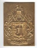 MUZEUL MILITAR NATIONAL din Bucuresti - Medalie MILITARA varianta aurita