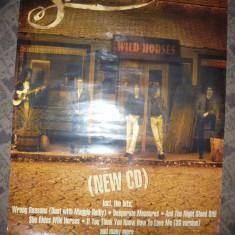 Poster al Formatiei Rock Anglia- SMOKIE- Wild Horses – The Nashville Album 59x84 - Afis