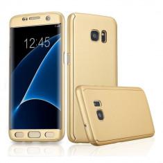 Husa Galaxy S7 Edge 360 gold