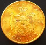 Moneda 500 Lei - ROMANIA, anul 1945  *cod 480  --- A. UNC+++