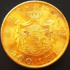 Moneda 500 Lei - ROMANIA, anul 1945 *cod 480 --- A. UNC+++ - Moneda Romania