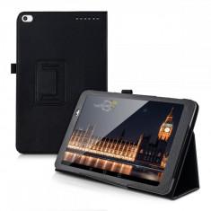 Husa Premium Book Cover tableta Huawei Mediapad T1, 9.6 inch, black - Husa Tableta Oem
