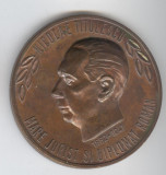 NICOLAE TITULESCU Diplomat renumit & Casa Memoriala din TITULESTI OLT, Medalie