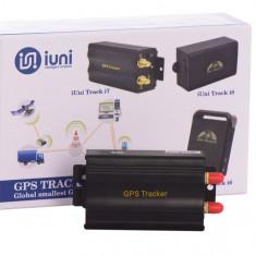 GPS Tracker Auto iUni Track i7, Localizare si urmarire GPS, Microfon, Autonomie nelimitata - Localizator GPS