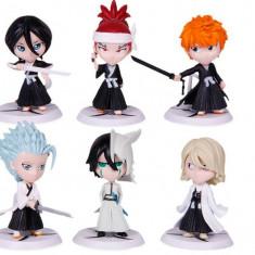 Set figurine Bleach anime Ichigo Ulquiorra Renji Urahara - Figurina Desene animate