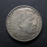 Germania - 5 Reichsmark 1936 A Hindenburg - Argint, Europa