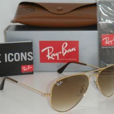 RAY BAN 3025 AVIATOR Large Metal 001/51,, 100% ORIGINALI !!! Marime ''S'' - Ochelari de soare Ray Ban