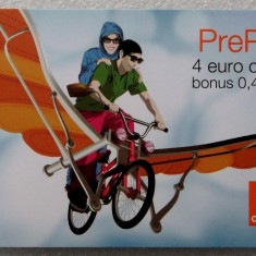 ROMANIA CARTELA Orange 4 euro - PENTRU COLECTIONARI ** - Cartela GSM