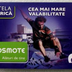 ROMANIA CARTELA Cosmote 3 euro - PENTRU COLECTIONARI ** - Cartela GSM