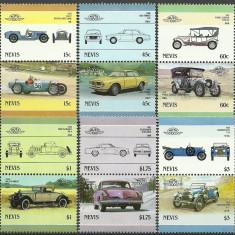 Nevis 1986 - automobile-1, serie neuzata - Timbre straine