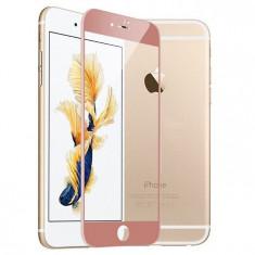 Folie de sticla iPhone 7 rose gold