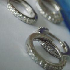 Cercei argint cu zirconii -2405