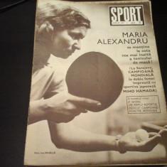 Revista Sport - Nr. 8, aprilie 1973, 23 pag