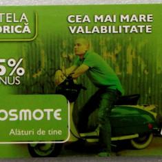 ROMANIA CARTELA Cosmote 6 euro - PENTRU COLECTIONARI ** - Cartela GSM