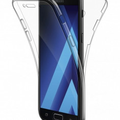 Husa silicon TPU Samsung Galaxy S6 edge G925 Full Cover Transparenta - Husa Tableta