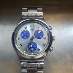 Ceas original Swatch Irony - Ceas unisex, Otel