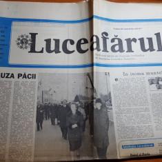 Ziarul luceafarul 24 octombrie 1987-art.depsre orasul craiova, filmul morometii