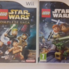 LOT 2  jocuri - LEGO - Star Wars  - Nintendo Wii [Second hand], Actiune, 3+, Multiplayer