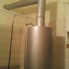 Vand cazan de baie pe gaz pentru apa calda si incalzire