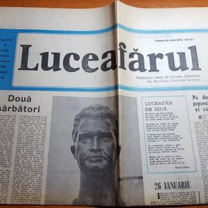 luceafarul 23 ianuarie 1982-art. ziua lui ceausescu si despre unirea lui cuza
