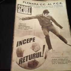 Revista Sport - Nr. 5, martie 1973, 23 pag