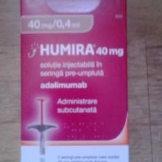 Vand o injectie humira40mg