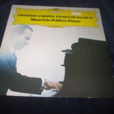 Frederich Chopin - Etudes Op.10 & Op.25 _ vinyl, LP _ Deutsche... (Germania) - Muzica Clasica Deutsche Grammophon, VINIL