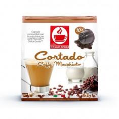Capsule caffe cortado TIZIANO BONINI, compatibile DOLCE GUSTO, 10 buc.