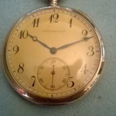 Ceas aur de buzunar 18k TIFFANY - Ceas de buzunar vechi
