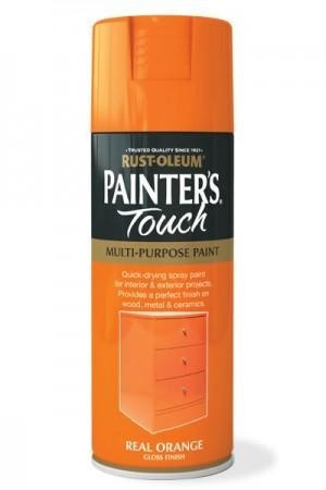 Vopsea Spray Painter's Touch Gloss Real Orange 400ml