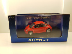 Macheta VW New Beetle AutoArt 1/43 foto