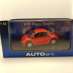 Macheta VW New Beetle AutoArt 1/43