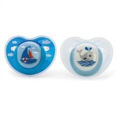 Suzete Ortodontice 0 luni+ Albastru - Suzeta