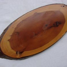 Felie de lemn rosu californian