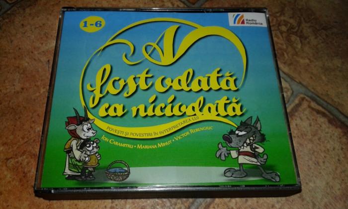 A Fost Odata Ca Niciodata - 6 CD-Audio cu Povesti Si Povestiri