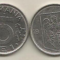 ROMANIA 5 LEI 1995 [1] XF+, livrare in cartonas - Moneda Romania, Fier