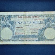 BANCNOTA ROMANIA 100000 LEI 1946 DECEMBRIE - Bancnota romaneasca