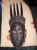 Masca lemn veche