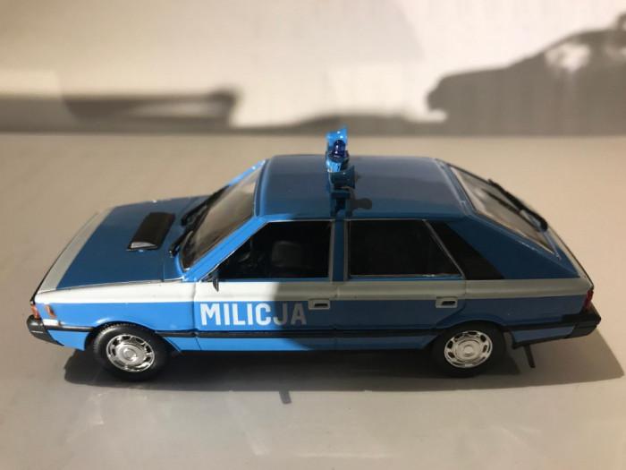 Macheta  FSO Polonez Militia - Polonia scara 1:43
