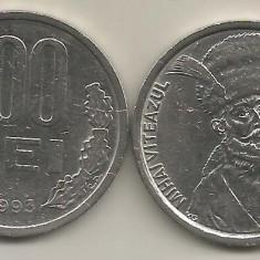 ROMANIA   100  LEI  1993    [1]  XF ,   livrare  in cartonas