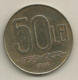 ROMANIA   50  LEI  1994  [2]   livrare  in cartonas, Fier
