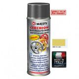 Cumpara ieftin Vopsea Spray Jante Macota Auriu Metalizat 400ml