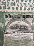 $1000 AUR SUA New York obligatiune la purtator emisa 1898