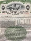$1000 General Motors obligatiune pe 25 ani emisa 1954