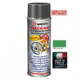 Cumpara ieftin Vopsea Spray Jante Macota Verde Metalizat 400ml