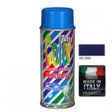 Vopsea Spray Multisuprafete Albastru RAL 5002 Tuttocolor Macota 400ml