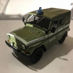 Macheta  UAZ 469 Militia - Polonia scara 1:43