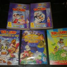 Serie de 5 DVD-uri Tom si Jerry